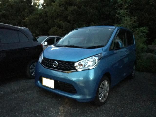 沖縄の中古車 日産 デイズ 車両価格 40万円 リ済込 2013(平成25)年 5.0万km ブルー