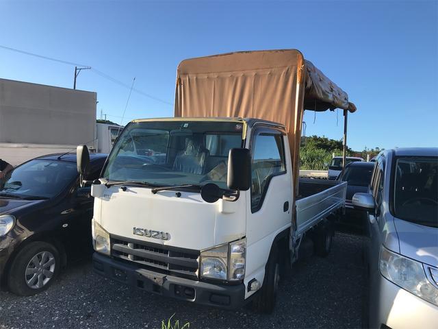 沖縄の中古車 いすゞ エルフトラック 車両価格 65万円 リ済込 2010(平成22)年 35.4万km ホワイト