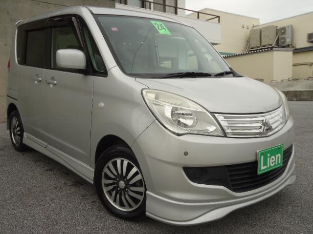 沖縄県の中古車ならデリカD:2 X 新品フリップダウンモニター ナビ フルセグTV