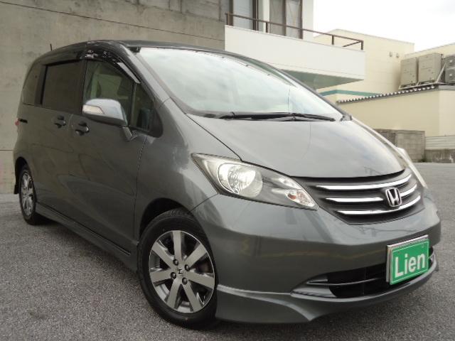 沖縄の中古車 ホンダ フリード 車両価格 58万円 リ済込 平成21年 10.5万km グレーM