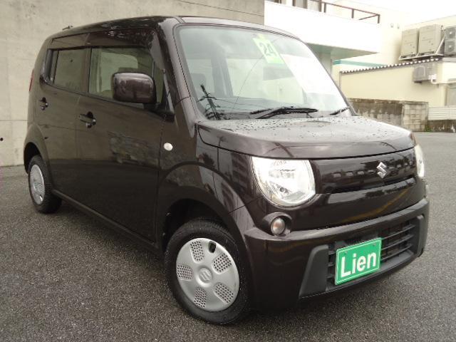 沖縄の中古車 スズキ MRワゴン 車両価格 48万円 リ済込 平成24年 9.4万km DブラウンM