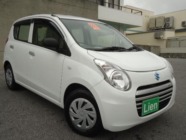 沖縄の中古車 スズキ アルトエコ 車両価格 48万円 リ済込 平成26年 6.3万km ホワイト