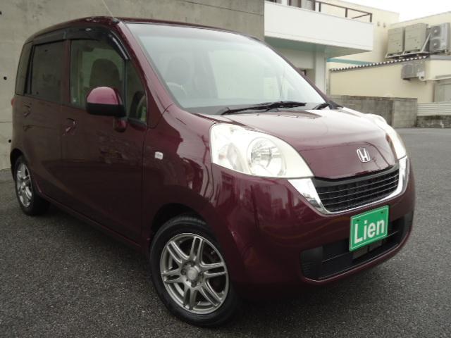 沖縄の中古車 ホンダ ライフ 車両価格 39万円 リ済込 平成22年 8.4万km ワインM