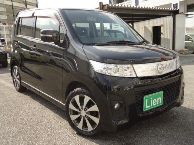 沖縄県の中古車ならAZワゴンカスタムスタイル XT ナビTV HIDライト パドルシフト ターボ車