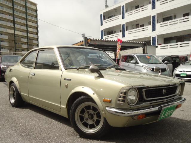沖縄の中古車 トヨタ カローラレビン 車両価格 ASK リ済込 1973(昭和48)年 走不明 ライトゴールドM