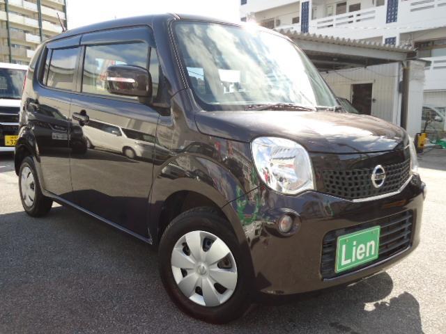 沖縄県の中古車ならモコ X 純正タッチパネルCD USBチューナー バックカメラ