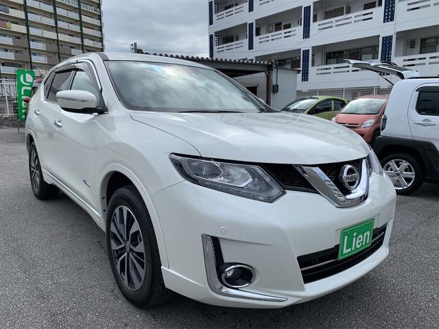 沖縄の中古車 日産 エクストレイル 車両価格 ASK リ済込 2015(平成27)年 5.1万km パールホワイト