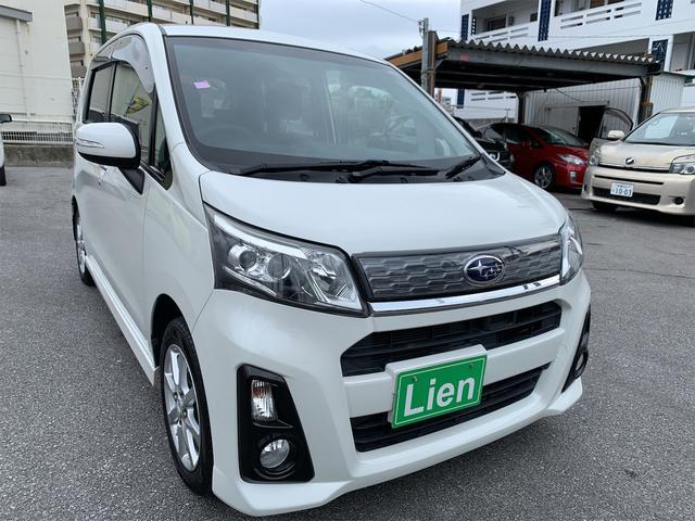沖縄の中古車 スバル ステラ 車両価格 ASK リ済込 2014(平成26)年 10.0万km パールホワイト