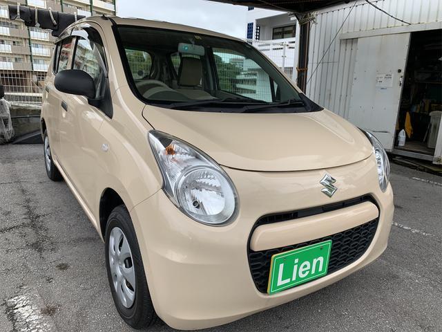 沖縄の中古車 スズキ アルト 車両価格 ASK リ済込 2013(平成25)年 2.6万km クリーム
