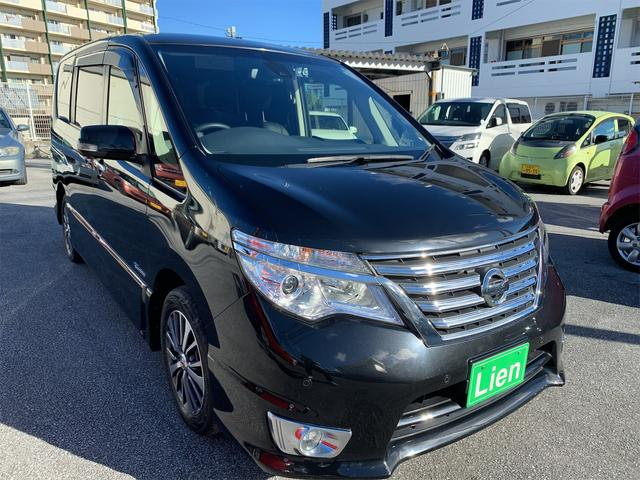沖縄の中古車 日産 セレナ 車両価格 ASK リ済込 2016(平成28)年 5.1万km ブラック