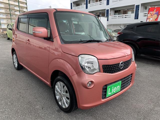 沖縄の中古車 日産 モコ 車両価格 49万円 リ済込 2014(平成26)年 6.8万km ピンクM