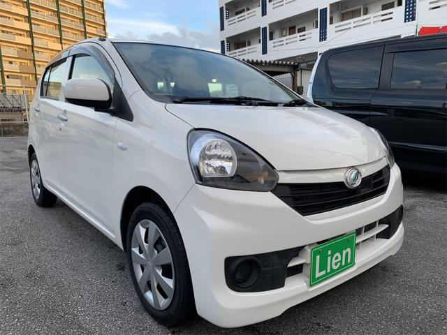 沖縄の中古車 ダイハツ ミライース 車両価格 ASK リ済込 2016(平成28)年 3.8万km ホワイト