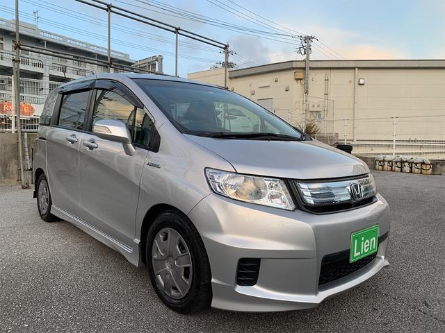 沖縄の中古車 ホンダ フリードスパイクハイブリッド 車両価格 ASK リ済込 2012(平成24)年 10.3万km シルバーM