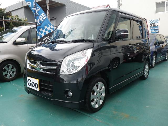 沖縄の中古車 スズキ パレット 車両価格 48万円 リ済込 平成20年 11.4万km ブラック