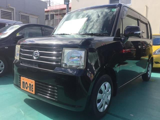 沖縄の中古車 ダイハツ ムーヴコンテ 車両価格 48万円 リ済込 2009(平成21)年 8.3万km ブラック