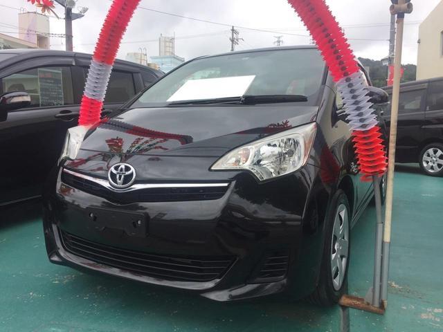 沖縄の中古車 トヨタ ラクティス 車両価格 69万円 リ済込 平成24年 3.9万km ブラック
