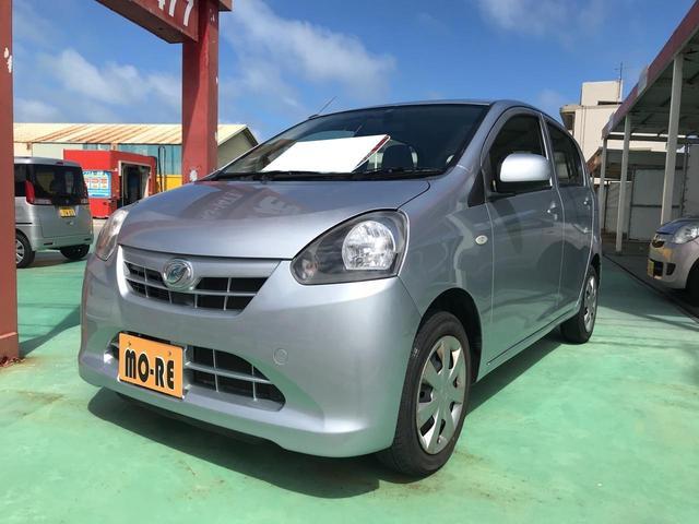 沖縄の中古車 ダイハツ ミライース 車両価格 38万円 リ済込 平成24年 12.0万km シルバー