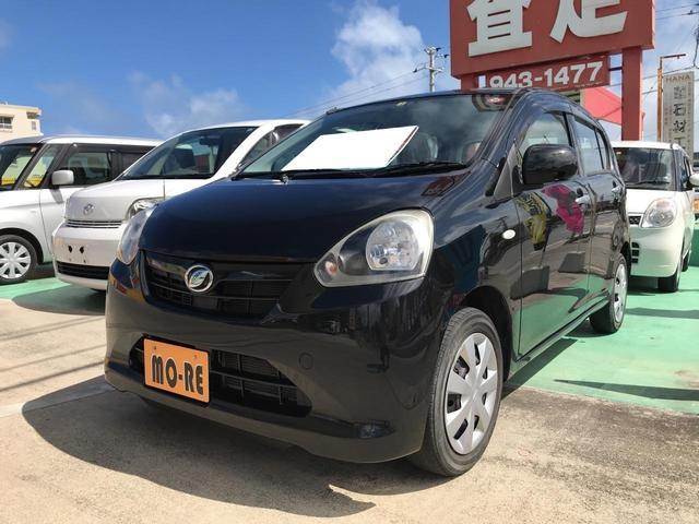 沖縄の中古車 ダイハツ ミライース 車両価格 44万円 リ済込 2012(平成24)年 8.8万km ブラック
