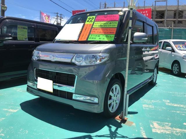 沖縄の中古車 ダイハツ タント 車両価格 69万円 リ済込 平成22年 7.6万km グレー