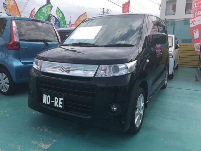 沖縄県の中古車ならワゴンRスティングレー X TV ナビ