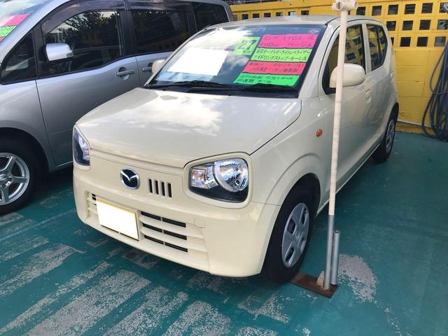 沖縄の中古車 マツダ キャロル 車両価格 64万円 リ済込 2015(平成27)年 6.1万km ベージュ