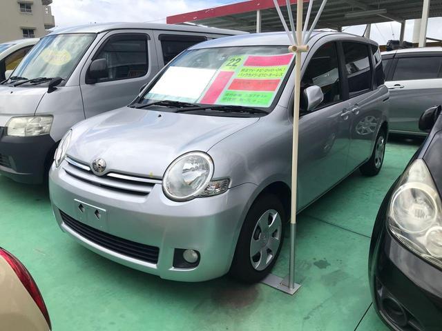 沖縄の中古車 トヨタ シエンタ 車両価格 45万円 リ済込 2010(平成22)年 5.8万km シルバー