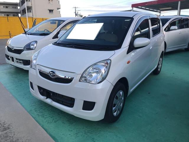 沖縄の中古車 ダイハツ ミラ 車両価格 38万円 リ済込 2012(平成24)年 5.5万km ホワイト