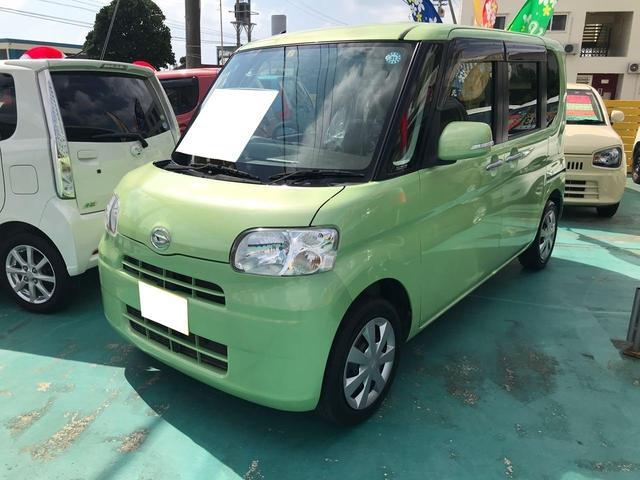 沖縄県の中古車ならタント X 左側パワースライドドア TV新品 新品バックカメラ