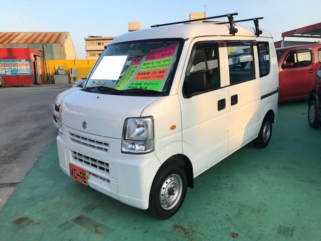 沖縄の中古車 スズキ エブリイ 車両価格 52万円 リ済込 2013(平成25)年 9.1万km ホワイト