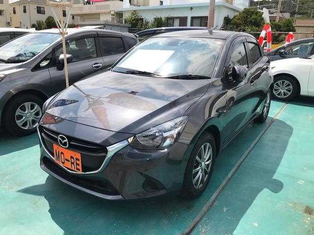 沖縄の中古車 マツダ デミオ 車両価格 117万円 リ済込 2015(平成27)年 3.2万km グレー