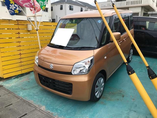 沖縄県の中古車ならスペーシア X 新品フルセグTV ナビ バックカメラ 左側パワースライド