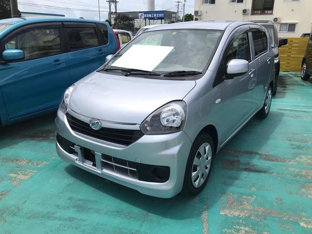 沖縄県中頭郡中城村の中古車ならミライース L ETC CD キーレス サイドバイザー ABS