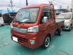 ハイゼットトラックジャンボ 4WD ワンオーナー 幌カバー付 CD 社外アルミ マット付