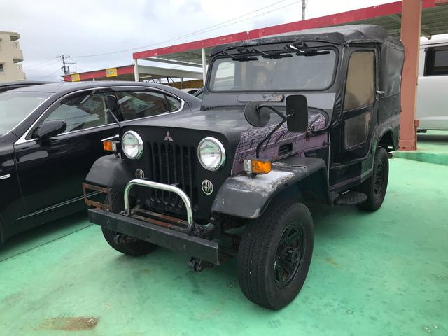 沖縄県の中古車ならジープ キャンバストップ 最終生産記念車 ディーゼル 4WD MT