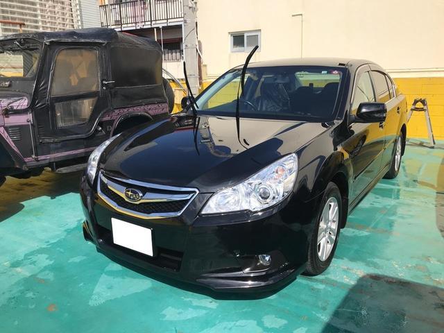 沖縄の中古車 スバル レガシィB4 車両価格 100万円 リ済込 2010(平成22)年 6.3万km ブラック