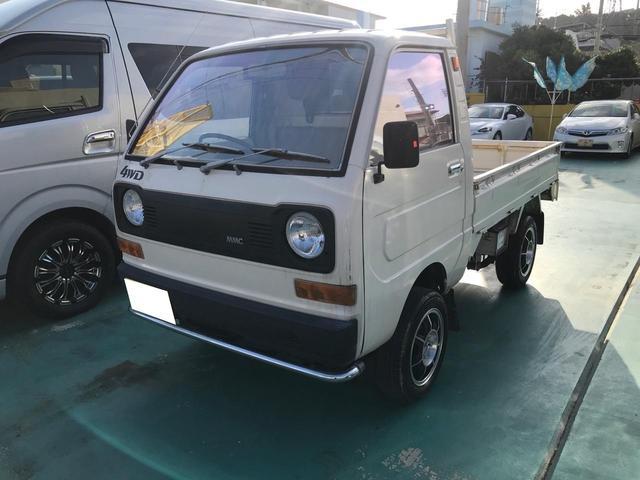 沖縄県の中古車ならミニキャブトラック ベースグレード 4WD 社外アルミ 現状販売