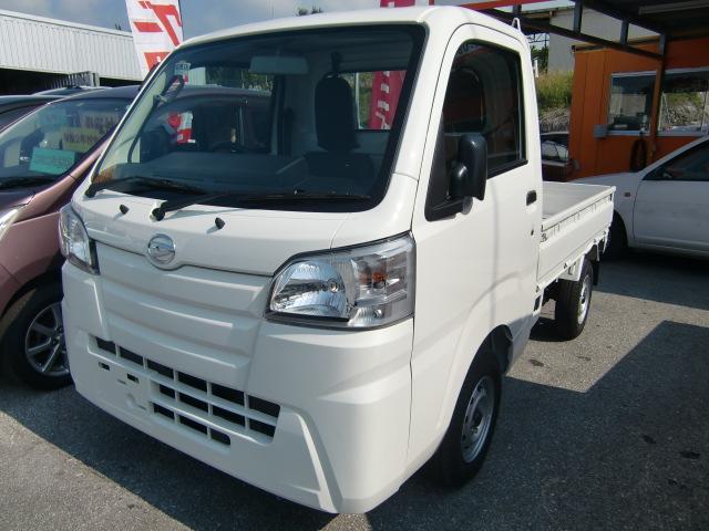 沖縄の中古車 ダイハツ ハイゼットトラック 車両価格 95万円 リ済込 2018(平成30)年 6km ホワイト
