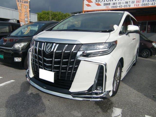 沖縄の中古車 トヨタ アルファード 車両価格 470万円 リ済込 新車  パールホワイト