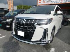 アルファード新車・2.5S Cパッケージ・モデリスタ