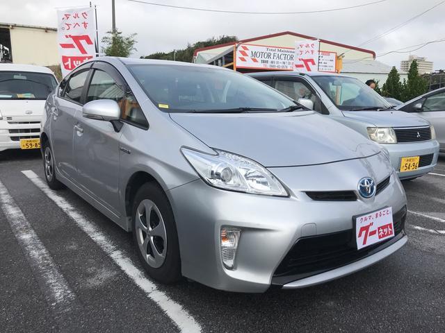 沖縄県の中古車ならプリウス L・2年保証付き