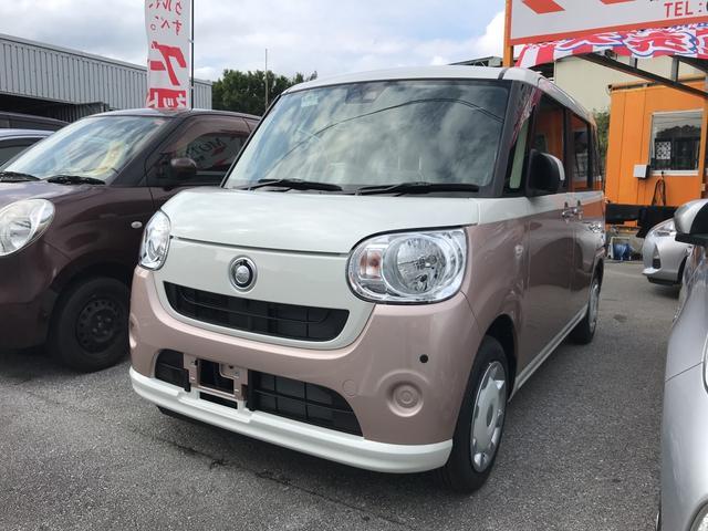 沖縄の中古車 ダイハツ ムーヴキャンバス 車両価格 140万円 リ済込 新車  ツートン
