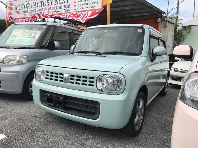 沖縄の中古車 スズキ アルトラパン 車両価格 32万円 リ済込 2010(平成22)年 9.9万km ライトブルーM