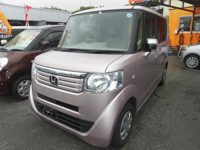 沖縄の中古車 ホンダ N-BOX 車両価格 55万円 リ済込 2012(平成24)年 11.0万km シルバー