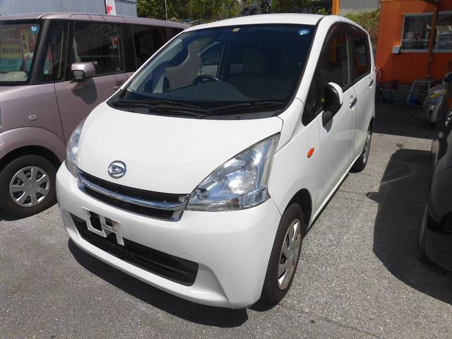 沖縄の中古車 ダイハツ ムーヴ 車両価格 32万円 リ済込 2012(平成24)年 10.4万km ホワイト