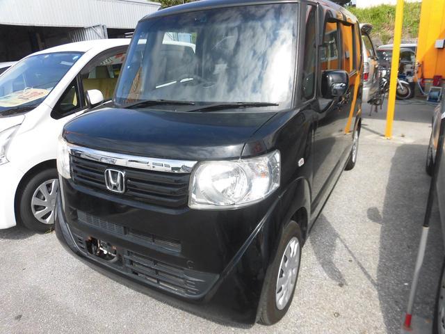 沖縄県の中古車ならN-BOX G・Lパッケージ.・2年保証