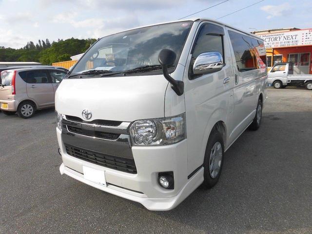 沖縄の中古車 トヨタ レジアスエースバン 車両価格 ASK リ済込 新車  パール