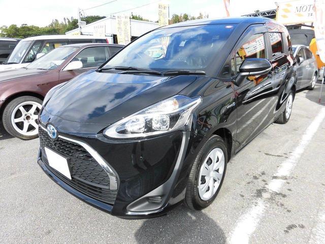 沖縄の中古車 トヨタ シエンタ 車両価格 245万円 リ済込 新車  ブラック