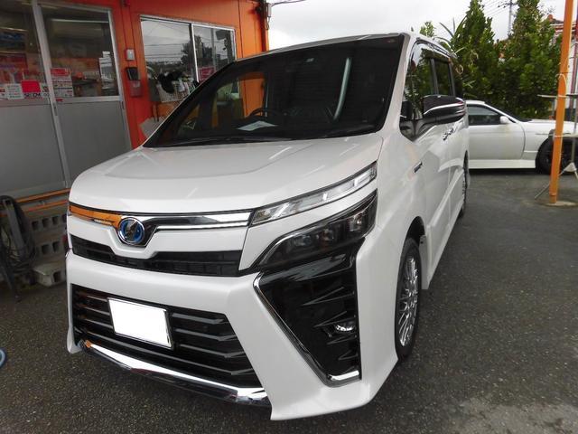 沖縄県の中古車ならヴォクシー 新車・ハイブリッドZS 煌II