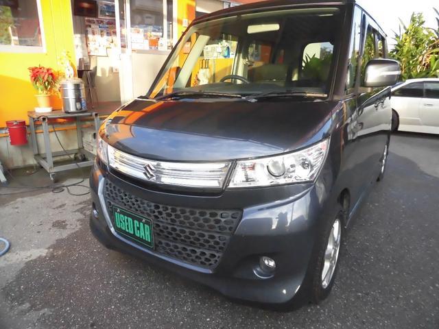 沖縄の中古車 スズキ パレットSW 車両価格 37万円 リ済込 2009(平成21)年 11.6万km ガンM