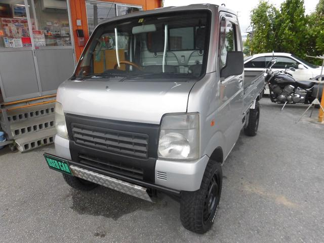 沖縄県中頭郡中城村の中古車ならキャリイトラック リフトアップ車・現状車